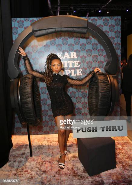Logan Browning attends the Netflix FYSee Kick Off Party at Raleigh Studios on May 6 2018 in Los Angeles California