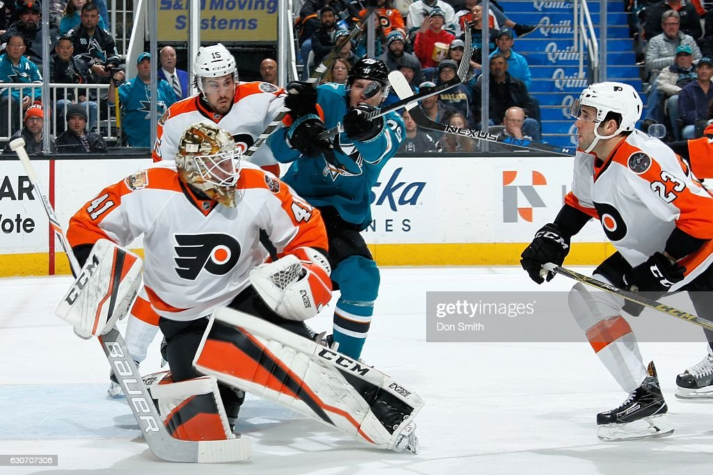 Philadelphia Flyers v San Jose Sharks
