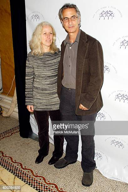 Logan Goodman and David Strathairn attend NEW YORK STAGE AND FILM Annual Gala 2008 at Capitale on November 10 2008 in New York City