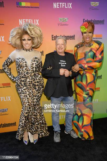 Logan Hardcore Kurt Kelly and Jacqueline Dupree attend as Entertainment Weekly Celebrates Its Annual LGBTQ Issue at the Stonewall Inn on June 05 2019...