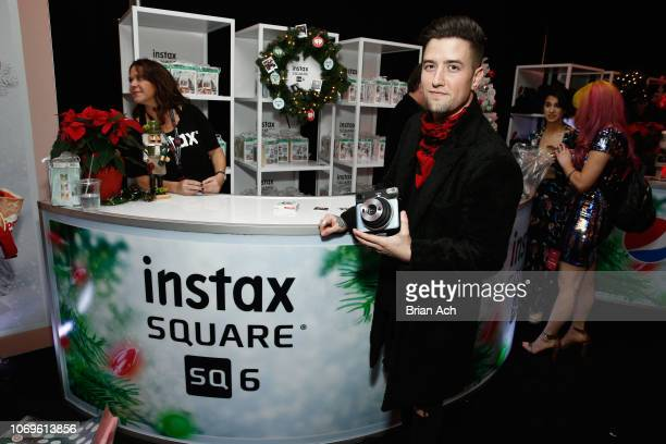 Logan Henderson attends the Z100's Jingle Ball 2018 Gift Lounge at Madison Square Garden on December 7 2018 in New York City