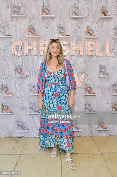 Logan Hill attends the celebration of Chrishell Stause's DSW Fun, Flirty Capsule Collection at Sunset Tower Hotel on July 14, 2021 in Los Angeles,...
