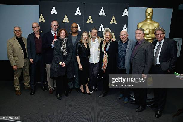 Logan Hill Ted Tally Patrick Harrison Jodie Foster Johnathan Demme Kasi Lemmons Edward Saxon Ron Bozman and Kerry Brougher attend the Academy Museum...