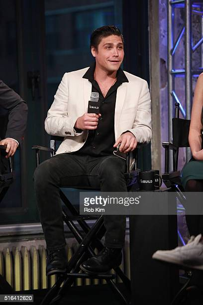 Logan Huffman attends AOL Build Speaker Series to discuss The Preppie Connection at AOL Studios In New York on March 18 2016 in New York City