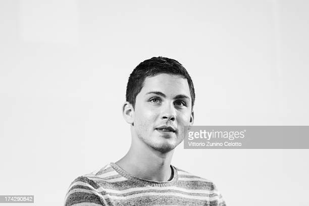 Logan Lerman attends 2013 Giffoni Film Festival press conference on July 23 2013 in Giffoni Valle Piana Italy
