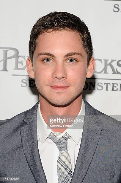 Logan Lerman attends Percy Jackson Sea Of Monsters Hamptons Premiere at UA Southampton Cinemas on July 28 2013 in Southampton New York