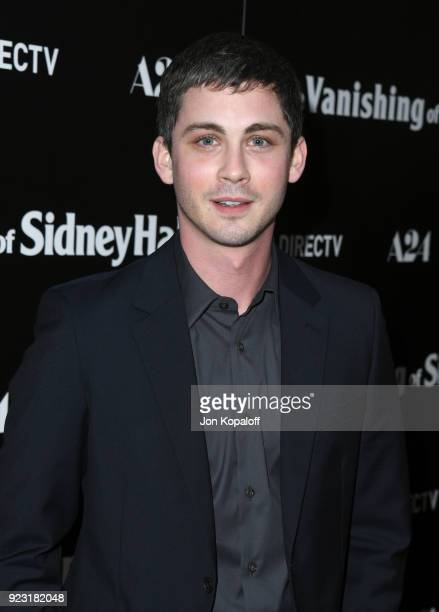 Logan Lerman attends the premiere of A24 and DirecTV's The Vanishing Of Sidney Hall at ArcLight Hollywood on February 22 2018 in Hollywood California