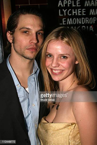 Logan Marshall Green and Kelli Garner during 'King Lear' Opening Night After Party at The Public Theater in New York NY United States