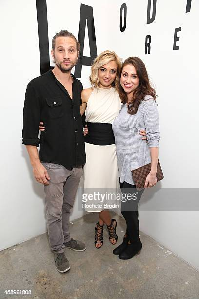 Logan MarshallGreen Diane MarshallGreen and Lili Flores attend the LA ODYSSEY Reverie Collaboration Shot By Lily Flores Serge Gil Scarlet Mann Hosted...