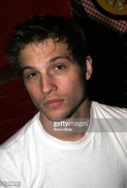 Logan MarshallGreen *Exclusive Coverage* during 'Birdie Blue' OffBroadway Opening Night After Party at Spanky's BBQ in New York City New York United...