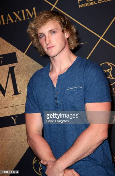 Logan Paul attends The 2017 MAXIM Hot 100 Party produced by Karma International at The Hollywood Palladium in celebration of MAXIMÕs Hot 100 List on...