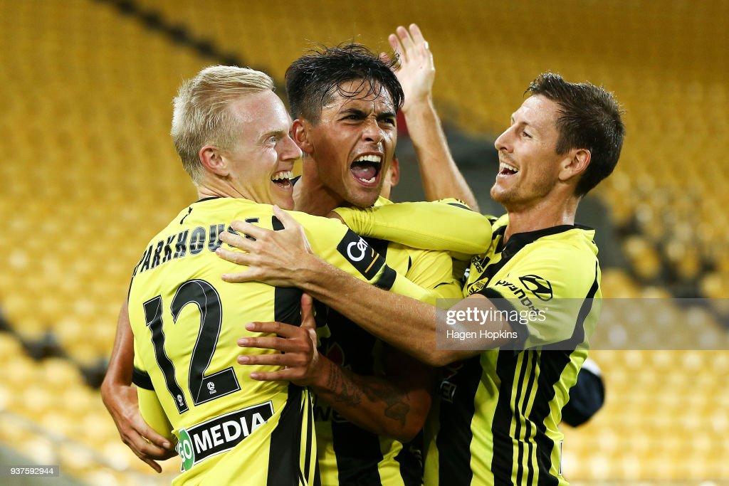 A-League Rd 24 - Wellington v Brisbane