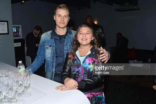 Logan Shroyer and Mackenzie Hancsicsak attend the 10th Annual Shorty Awards at PlayStation Theater on April 15 2018 in New York City