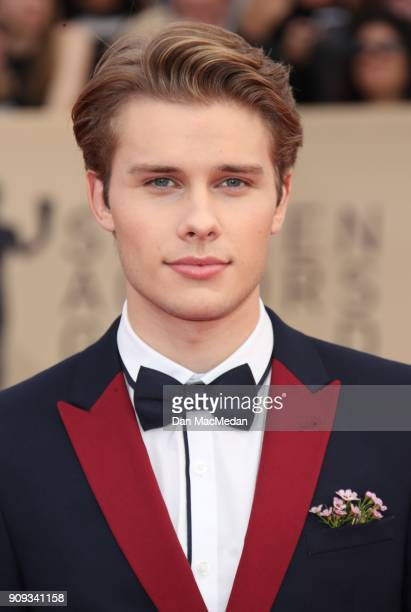Logan Shroyer arrives at the 24th Annual Screen Actors Guild Awards at The Shrine Auditorium on January 21 2018 in Los Angeles California