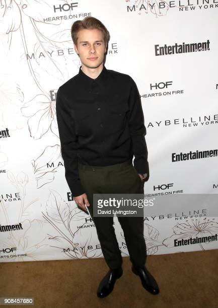 Logan Shroyer attends Entertainment Weekly's Screen Actors Guild Award Nominees Celebration sponsored by Maybelline New York at Chateau Marmont on...