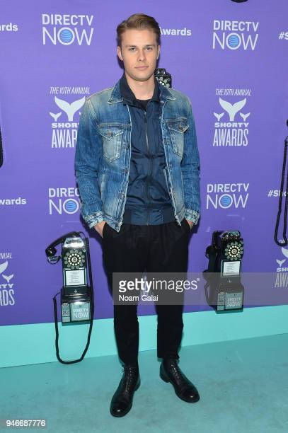 Logan Shroyer attends the 10th Annual Shorty Awards at PlayStation Theater on April 15 2018 in New York City
