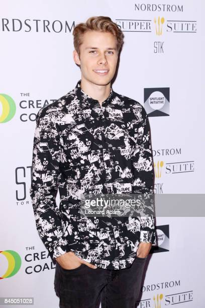 Logan Shroyer attends the 2017 Creative Coalition Spotlight Initiative Gala Awards Dinner at STK Toronto on September 9 2017 in Toronto Canada