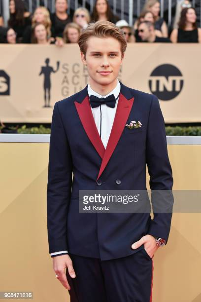 Logan Shroyer attends the 24th Annual Screen ActorsGuild Awards at The Shrine Auditorium on January 21 2018 in Los Angeles California