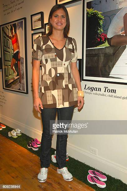 Logan Tom attends TAILWIND Product Showcase Featuring Brandi Chastain at Lotus Space on February 26 2007 in New York City