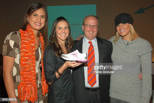 Logan Tom Brandi Chastain Matthew Rubell and Hope Solo attend TAILWIND Product Showcase Featuring Brandi Chastain at Lotus Space on February 26 2007...