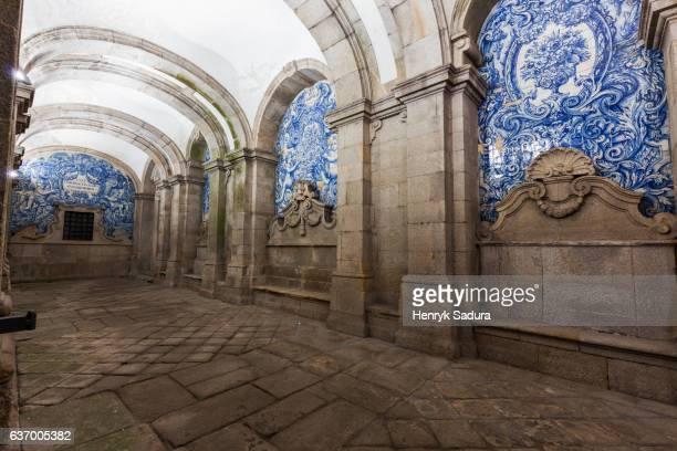 Loggia of Se Cathedral in Porto