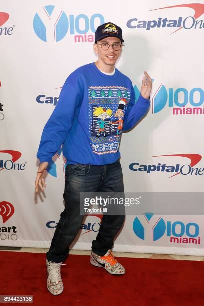 Logic attends the 2017 Y100 Jingle Ball at BBT Center on December 17 2017 in Sunrise Florida