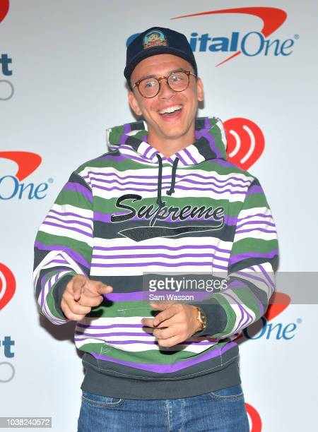 Logic attends the iHeartRadio Music Festival at TMobile Arena on September 22 2018 in Las Vegas Nevada