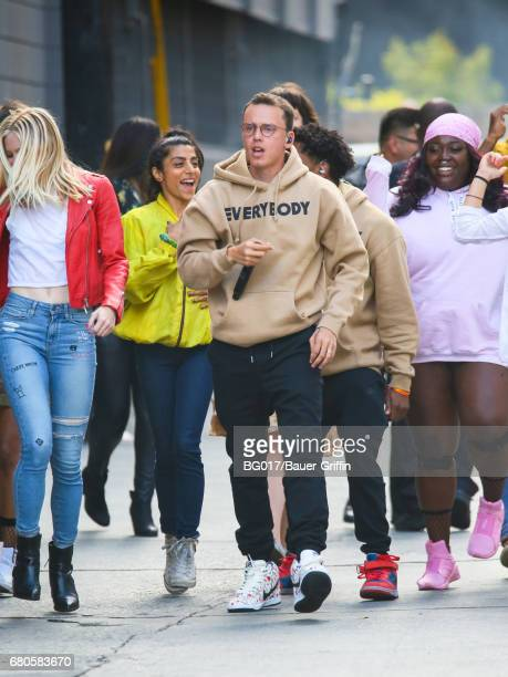 Logic is seen at 'Jimmy Kimmel Live' on May 08 2017 in Los Angeles California