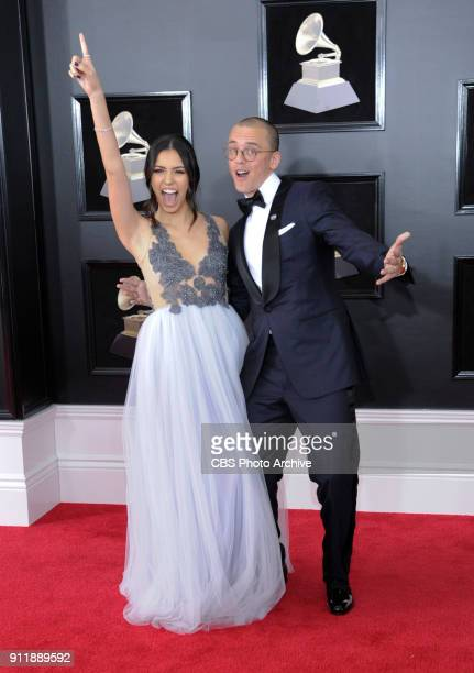 Logic on the red carpet at THE 60TH ANNUAL GRAMMY AWARDS broadcast live on both coasts from New York City's Madison Square Garden on Sunday Jan 28 at...