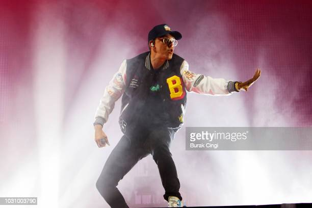 Logic performs at Alexandra Palace on September 10 2018 in London England