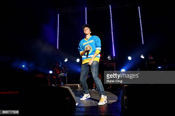 Logic performs at O2 Academy Brixton on October 31, 2017 in London, England.