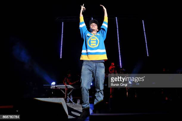Logic performs at O2 Academy Brixton on October 31 2017 in London England