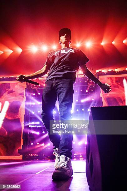 Logic performs at The Forum on July 6 2016 in Inglewood California