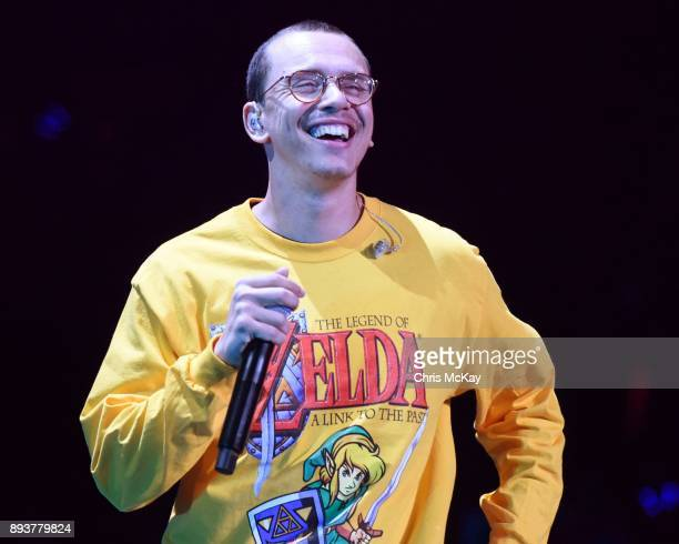 Logic performs during Power 961's iHeartRadio Jingle Ball 2017 at Philips Arena on December 15 2017 in Atlanta Georgia