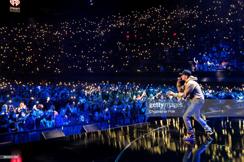 Logic performs onstage during 102.7 KIIS FM's Jingle Ball 2017 presented by Capital One at The Forum on December 1, 2017 in Inglewood, California.