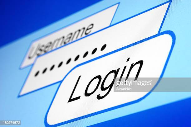 login - log on stock photos and pictures