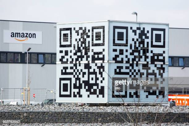 Logistics center of amazon in Raunheim-Moenchhof, Germany