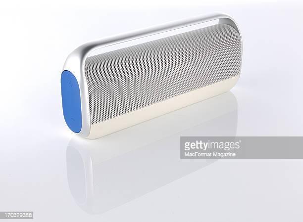 A Logitech UE Boombox Bluetooth speaker photographed during a studio shoot for MacFormat Magazine November 1 2012