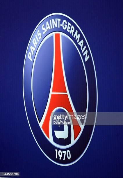 Logo Paris Saint Germain / Ajaccio 26e journee Ligue 1 Photo Dave Winter / Icon Sport
