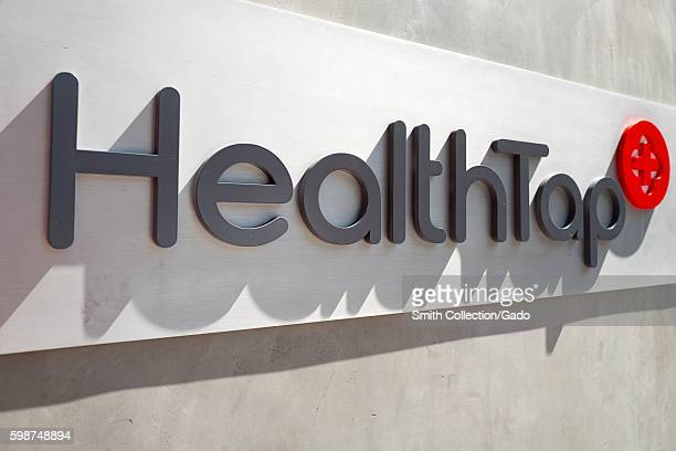 Logo and signage at the headquarters of interactive healthcare startup HealthTap, on University Avenue in the Silicon Valley town of Palo Alto,...