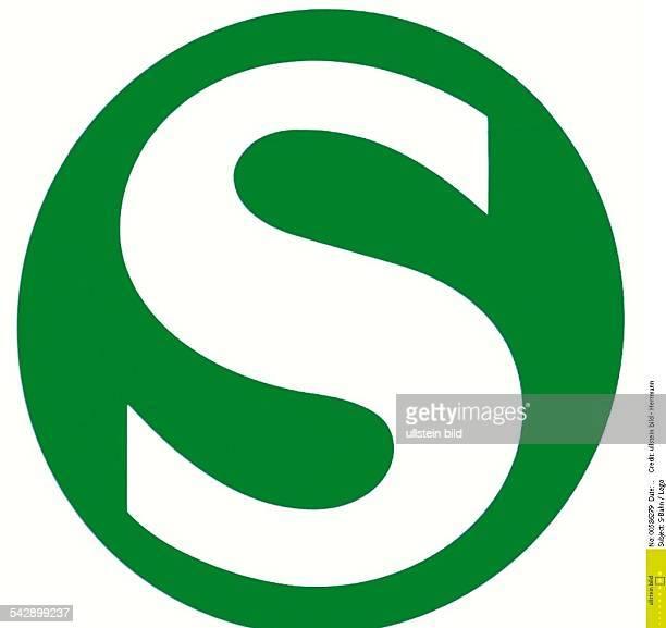 Logo der Berliner SBahn Öffentlicher Nahverkehr Schnellbahn Undatiertes Foto