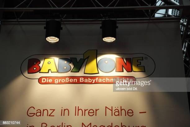 Logo des Unternehmens Baby1one auf der Babywelt Messe