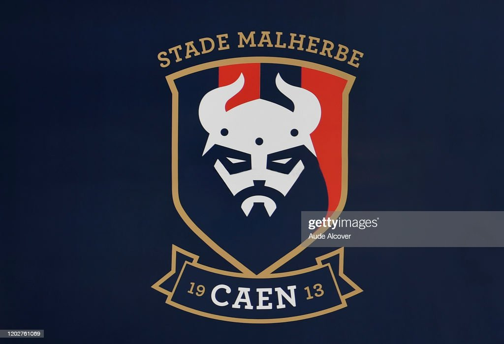 Logo During The Ligue 2 Match Between Lens And Caen On February 22 News Photo Getty Images