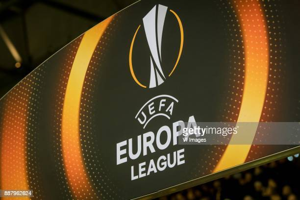 logo europa league during the UEFA Europa League group K match between Vitesse Arnhem and OGC Nice at Gelredome on December 07 2017 in Arnhem The...