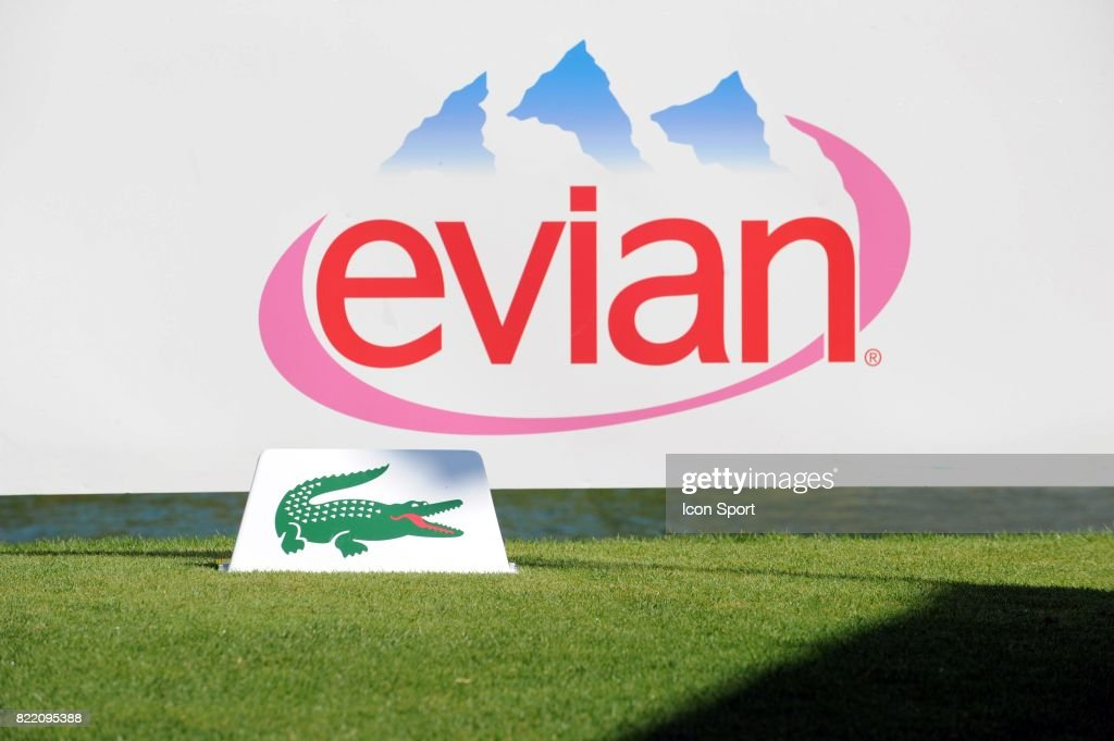 Logo Evian Et Lacoste Pictures   Getty Images