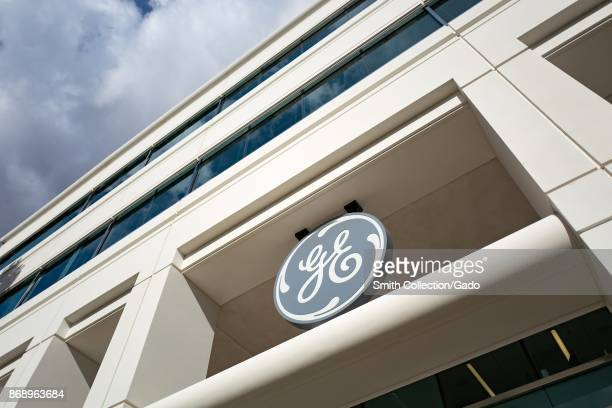 Logo for General Electric on a building in the Bishop Ranch office park in San Ramon, California, October 20, 2017.