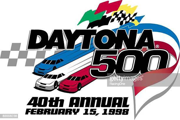 Logo for the 1998 Daytona 500 the 40th anniversary running