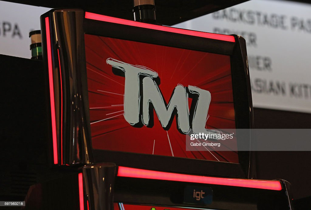 Harvey Levin And Tara Reid At Launch Party For TMZ Video Slots In Las Vegas : News Photo