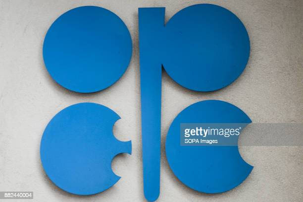 OPEC logo is seen at the Organisation of Petroleum Exporting Countries