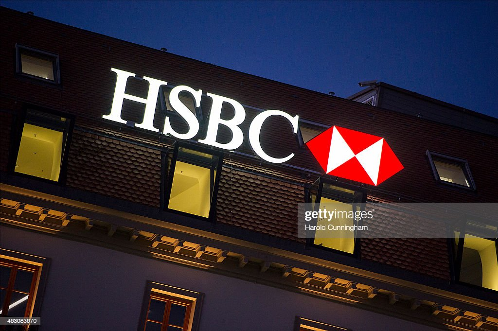 The Swiss Offices Of HSBC Private Bank In Geneva : News Photo